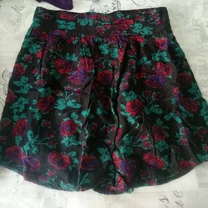 Kimchi Blue floral skirt with pockets